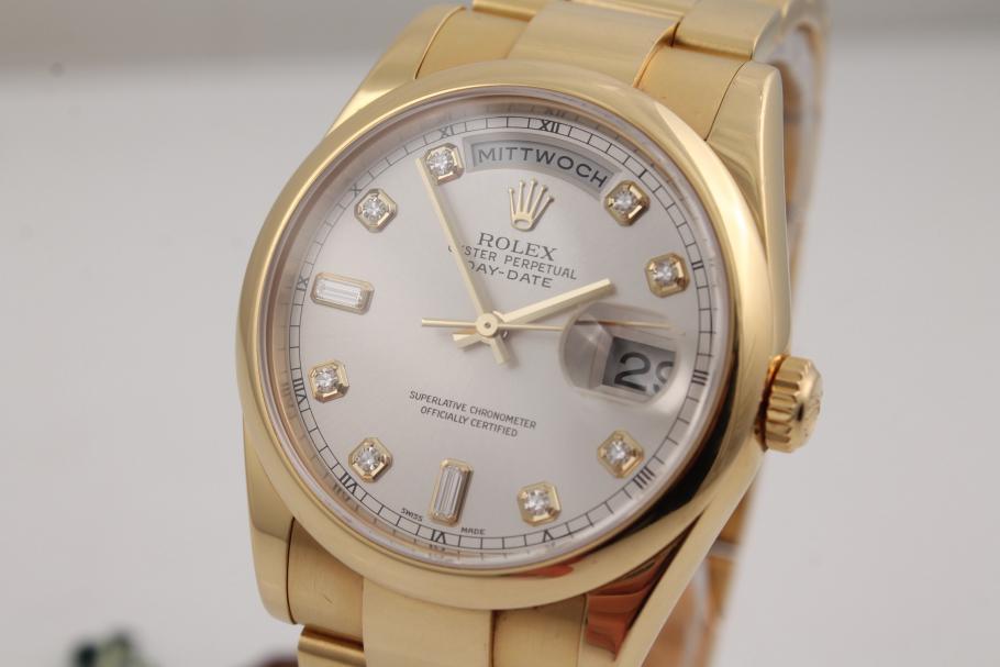 Rolex Day Date Gelbgold