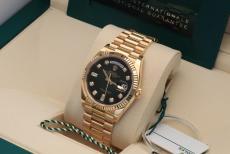 Rolex Day-Date Green-Dia Ref. 128238