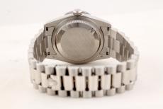 Rolex Day-Date Platin mit 24 Baguette Diamanten