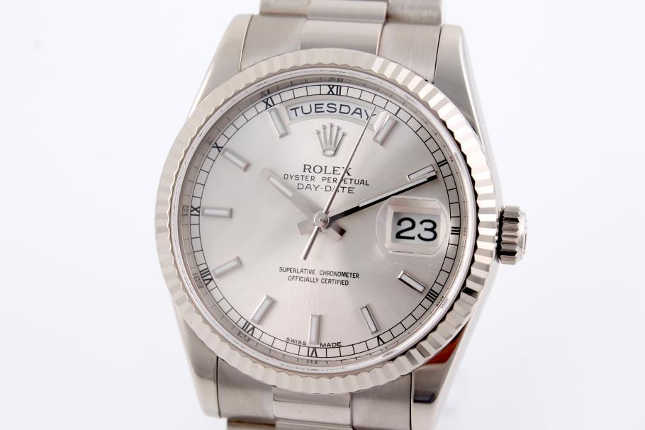 Rolex Day-Date Ref. 118239 neuwertig aus 2014