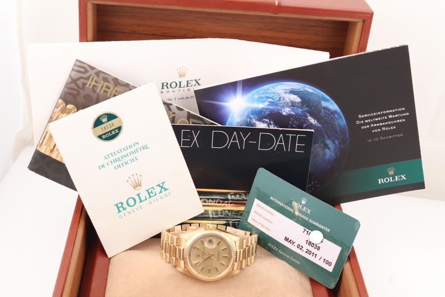 Rolex Day-Date Ref. 18038