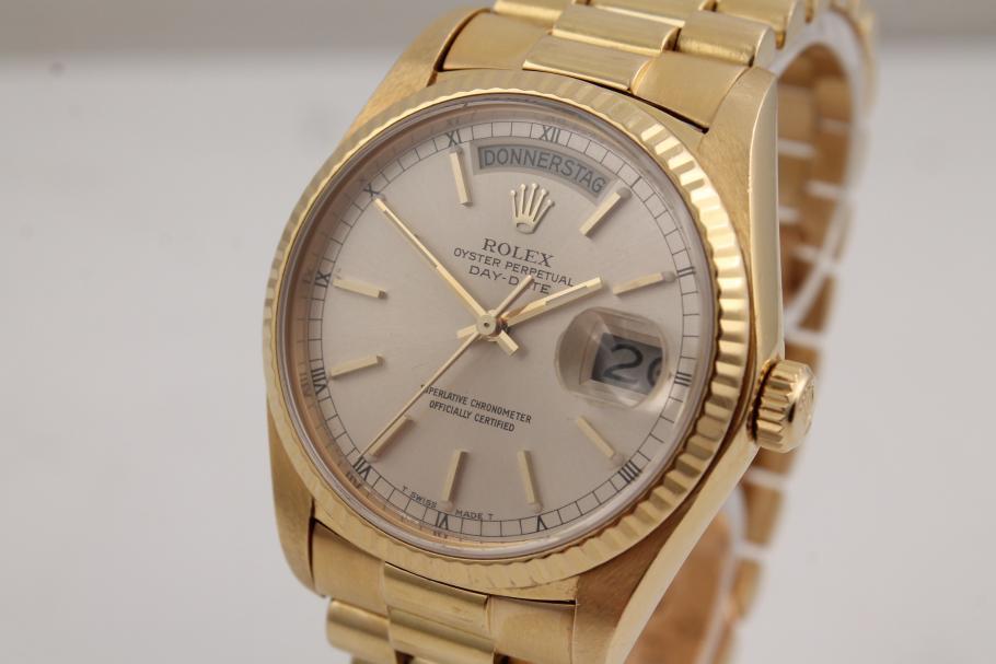 Rolex Day-Date Ref. 18038 aus 1977