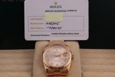 Rolex Day-Date Ref.118205 Pink Gold