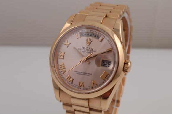 Rolex Day-Date Ref.118205 Pink Gold