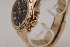 Rolex Daytona 18KT Gelbgold schwarzes Blatt Ref. 116508