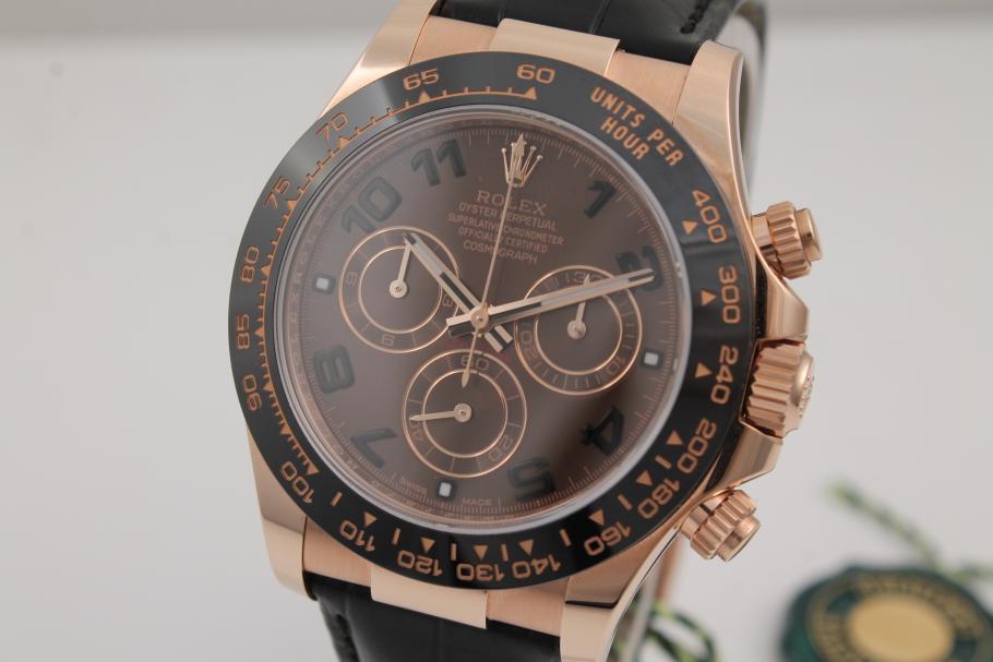 Rolex Daytona Chocolate Ref. 116515LN