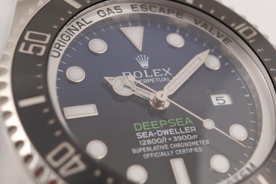 Rolex Deep Blue
