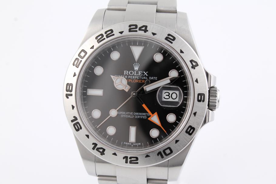 Rolex Explorer II Orange Hand Ref. 216570