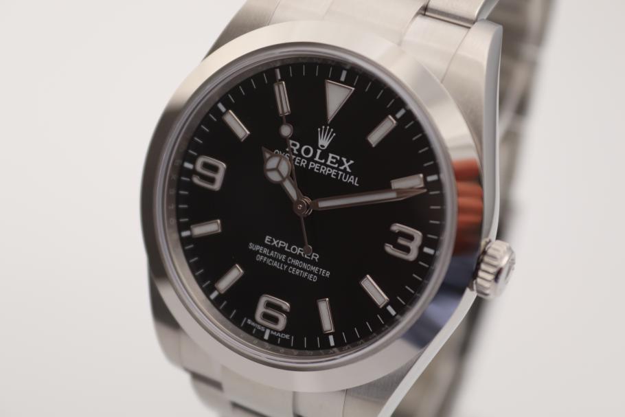 Rolex Explorer ungetragen 2020