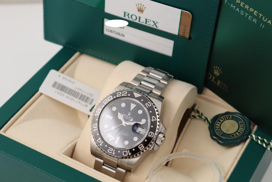 Rolex GMT Master 2019 unworn sealed