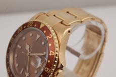 Rolex GMT Master Gelbgold mit Originalpapieren