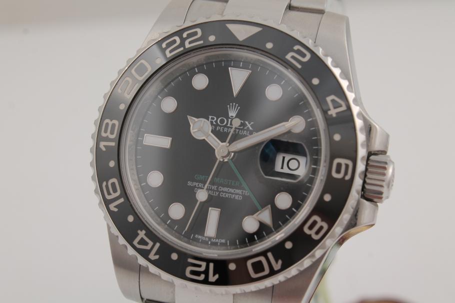 Rolex GMT Master II Ref 116710LN