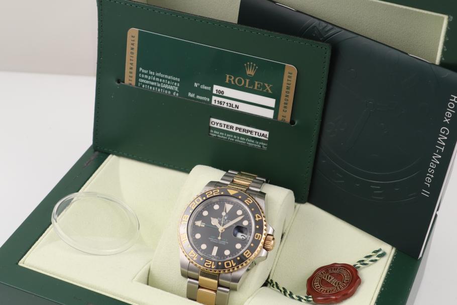 Rolex GMT Master II Stahl/ Gold 2010!