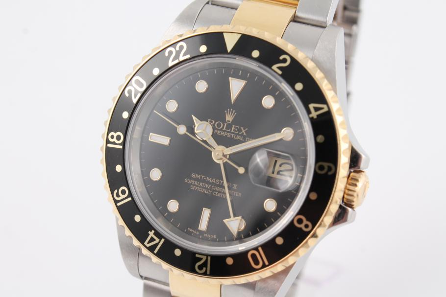 Rolex GMT Master II in Stahl/ Gold