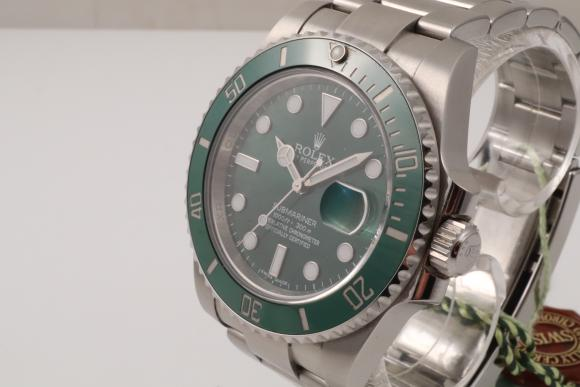 Rolex Green Submariner Ref. 116610LV