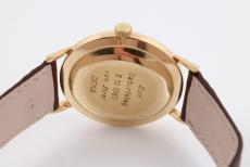 Rolex Herrenuhr Handaufzug in 18K Gelbgold