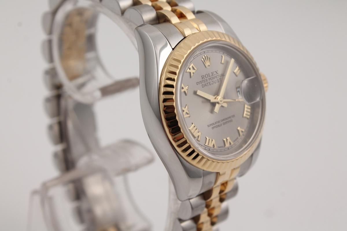 rolex lady datejust stahl gold chronometrie pietzner. Black Bedroom Furniture Sets. Home Design Ideas