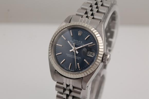 Rolex Lady Datejust blue