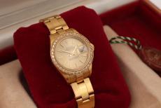 Rolex Lady Datejust in 18 Karat Gelbgold