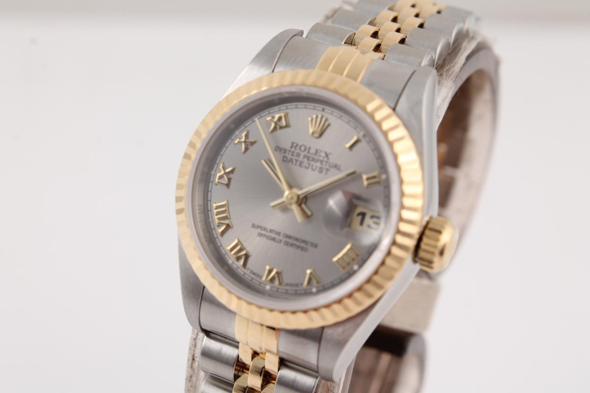 rolex lady datejust in stahl gold chronometrie pietzner. Black Bedroom Furniture Sets. Home Design Ideas