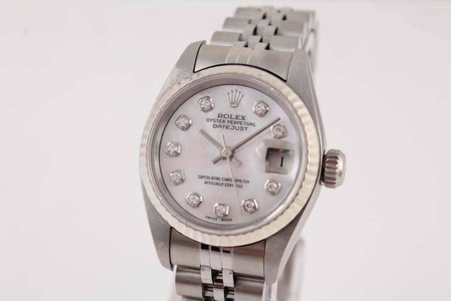 Rolex Lady Datejust mit Diamantblatt