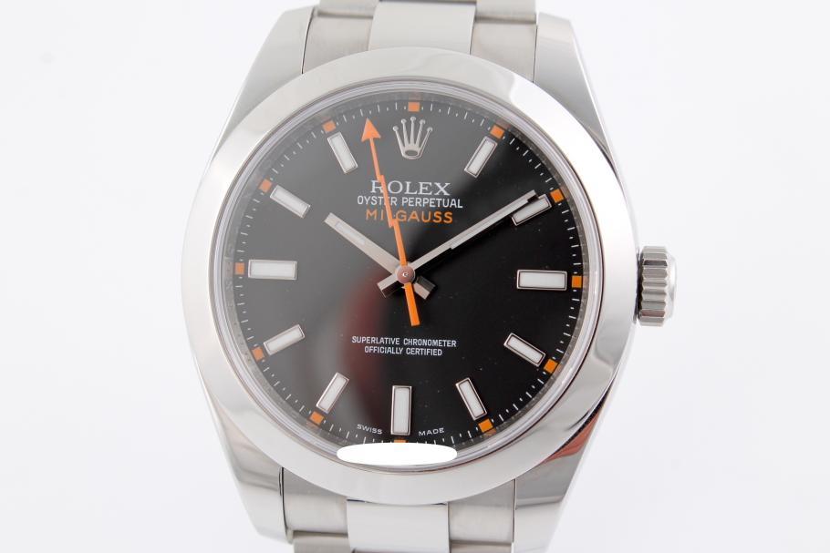 Rolex Milgaus Ref. 116400 ungetragen