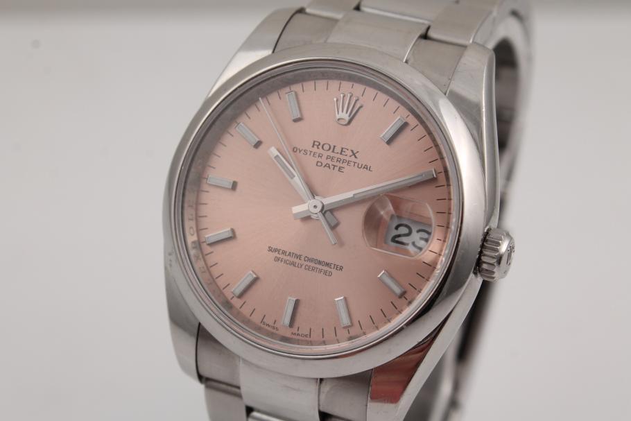Rolex Oyster Date Ref. 115200