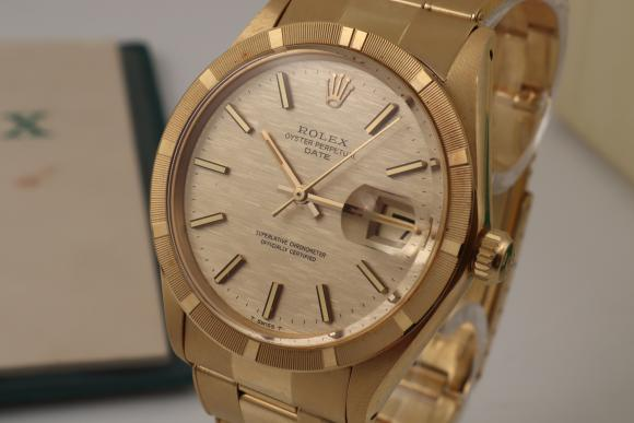 Rolex Oyster Date Yellowgold