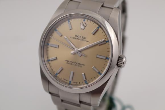 Rolex Oyster Stahl 34mm