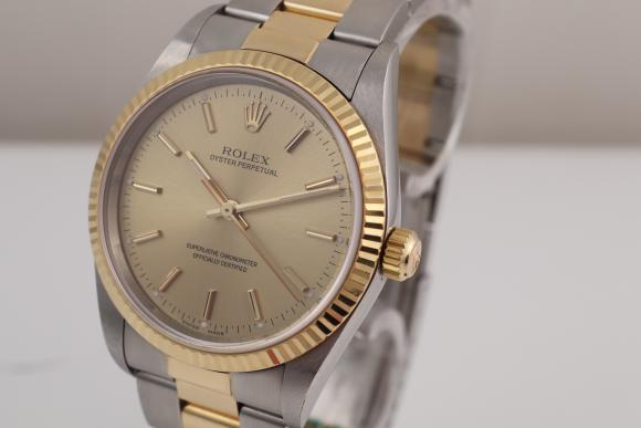 Rolex Oyster Stahl/ Gold