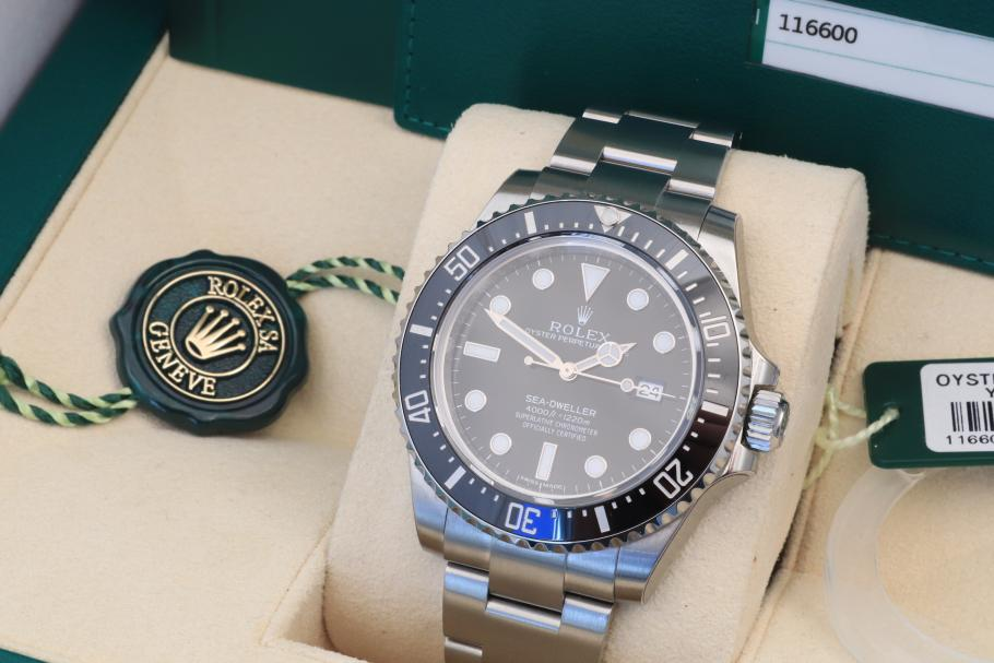 Rolex Sea-Dweller 4000 unworn