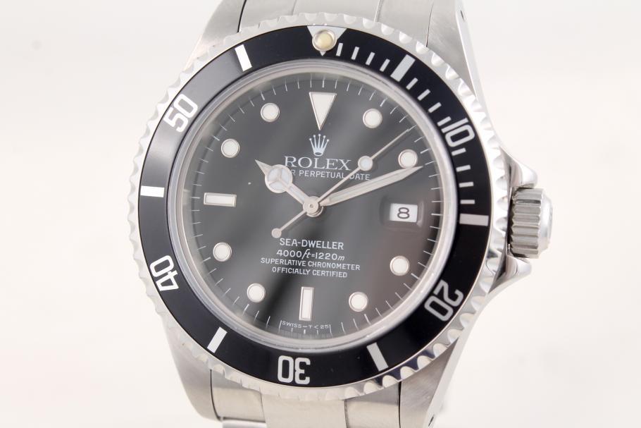 Rolex Sea-Dweller mit Box und Papiere