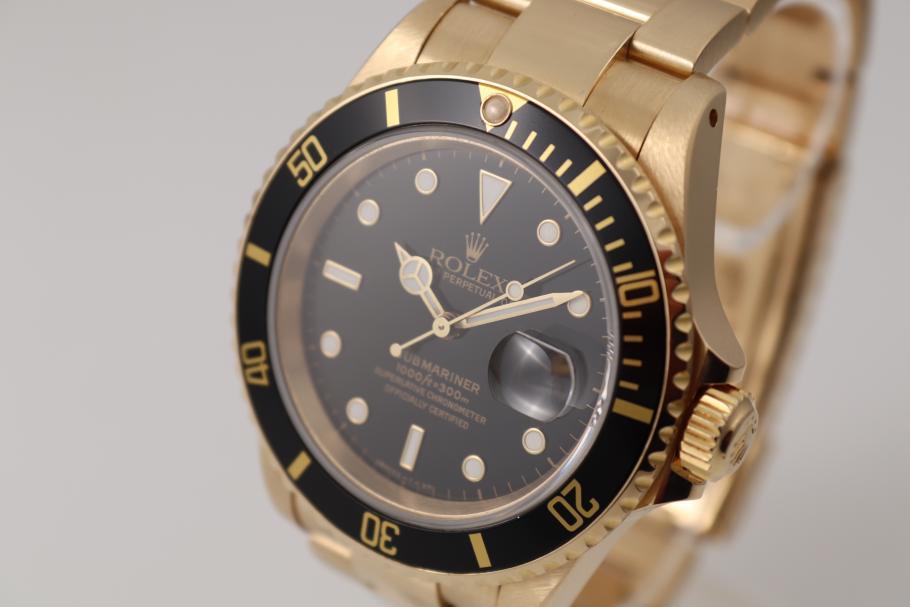 Rolex Submariner 18Kt Gelbgold