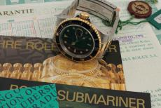 Rolex Submariner Blue Ref. 16613 unworn
