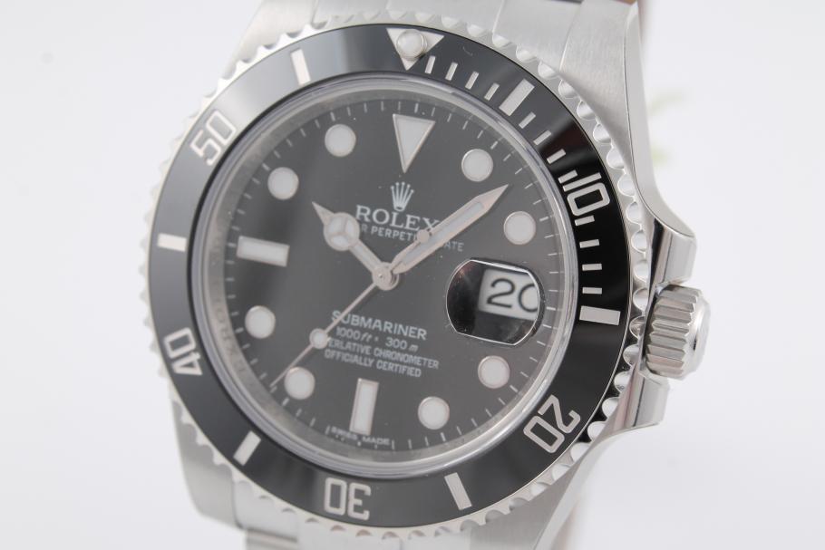 Rolex Submariner Date Ref. 116610LN ungetragen