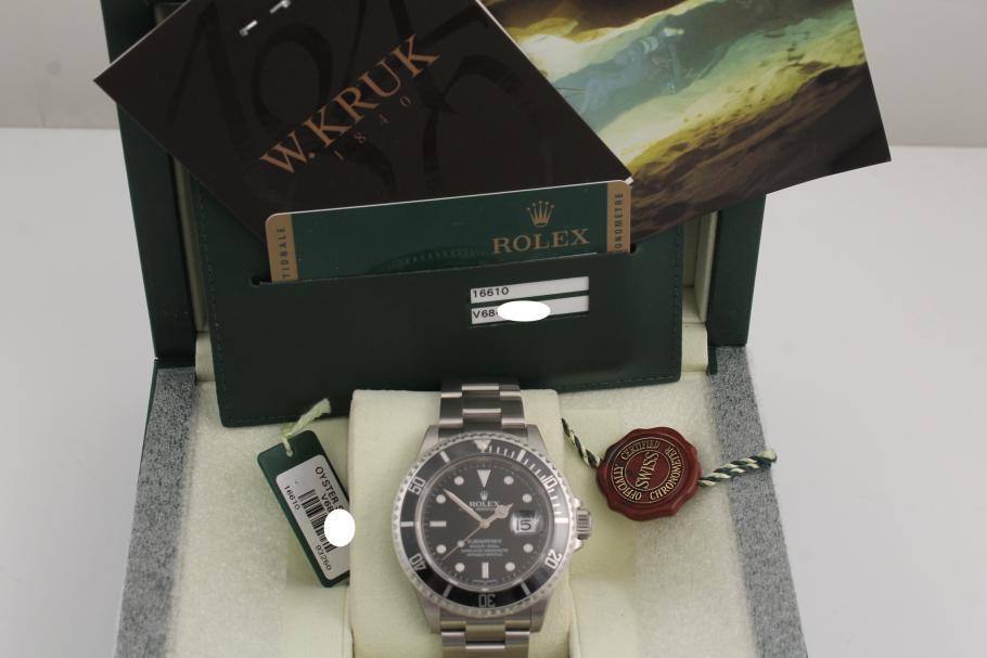 Rolex Submariner Date Ref. 16610 NOS