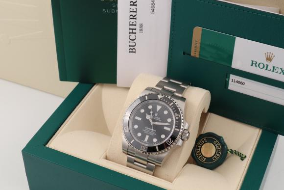 Rolex Submariner No Date Ref. 114060 unworn 2018
