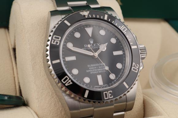 Rolex Submariner No Date ungetragen/ 2019