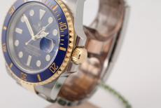 Rolex Submariner Stahl/ Gold blue dial