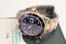 Rolex Submariner blaues Blatt