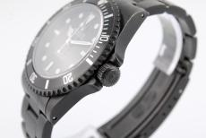 Rolex Submariner no date black / DLC