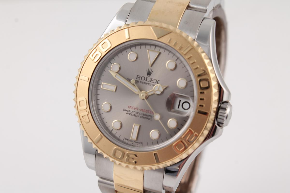 Rolex Yacht-Master-Medium-in-Stahl/-Gold - Chronometrie ...