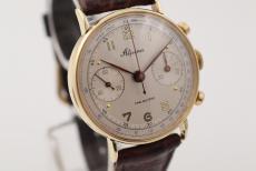 Alpina Chronograph Gelbgold