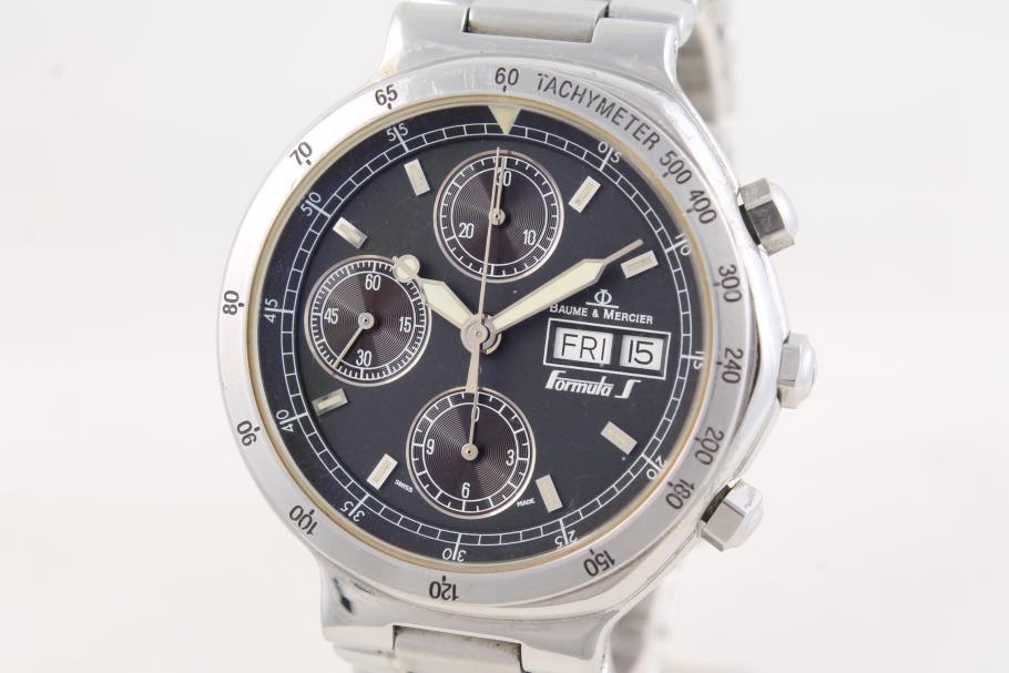 Baume & Mercier Formula S Chronograph