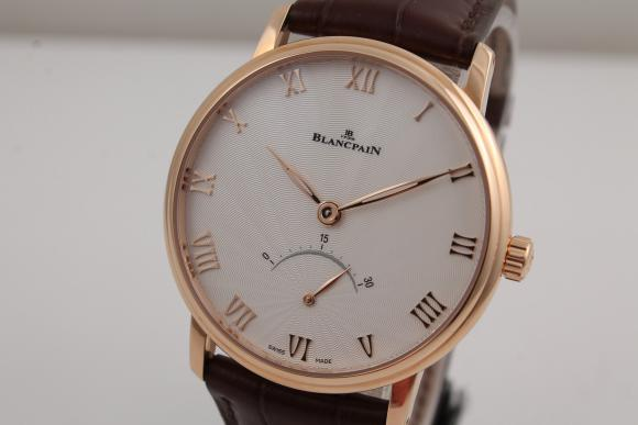 Verschiedene Marken Blancpain Villeret Retrograde Seconds Rose Gold