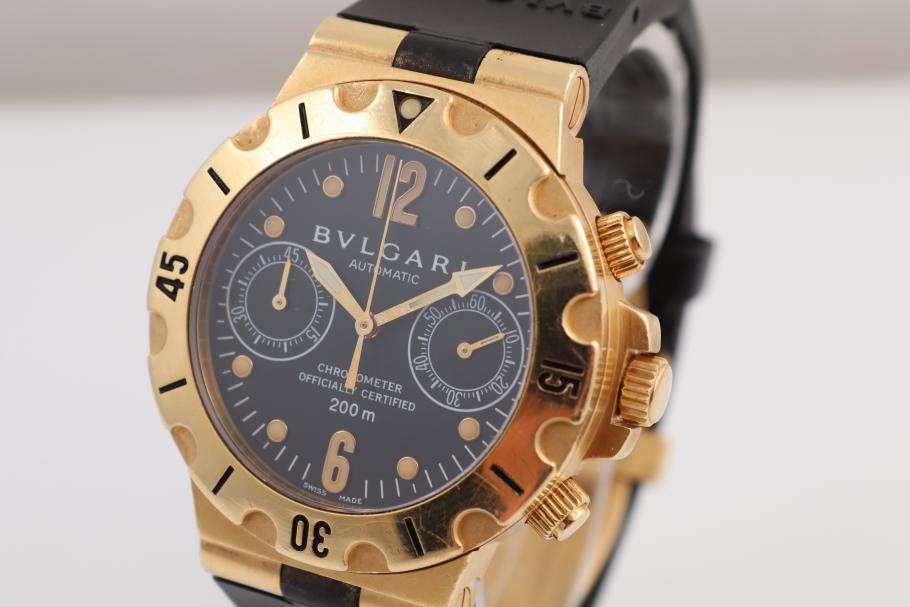 Bulgari Scuba Chrono Yellowgold