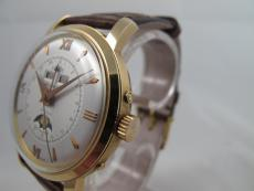 Dome Kalender Mondphase in 18K Gelbgold