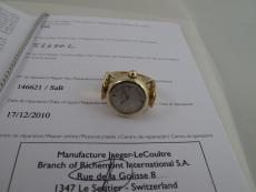 LeCoultre Ring-watch in 14K Gelbgold