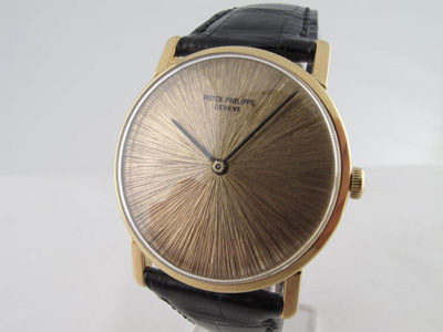 Gebrauchte Uhren München können hier zum Ankauf angeboten werden. In diesem Fall eine gebrauchte Luxusuhr Patek Philippe Calatrava